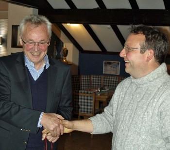 Der alte und der neue 1. Vorsitzende der WG Dümmer