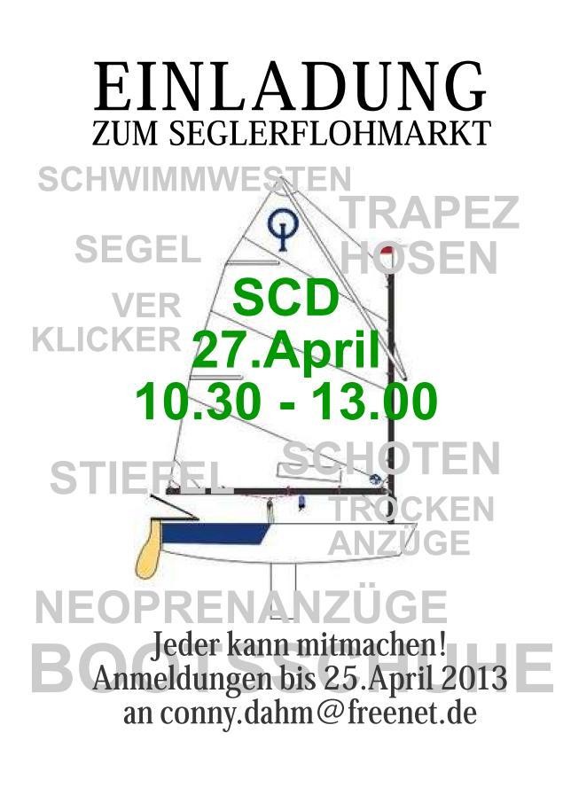 Segler-Flohmarkt im SCD