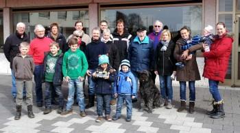 Teilnehmer der Deichreinigung im letzten Jahr