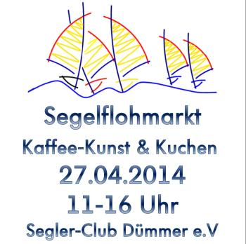Segelflohmarkt-Kaffee-Kunst-Kuchen