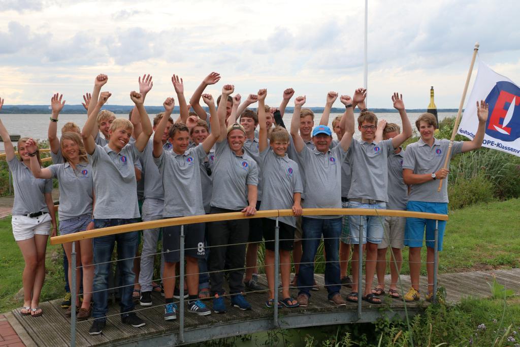 Europe Team Niedersachsen bei der Internationale Deutsche Jugendmeisterschaft auf dem Dümmer sehr erfolgreich