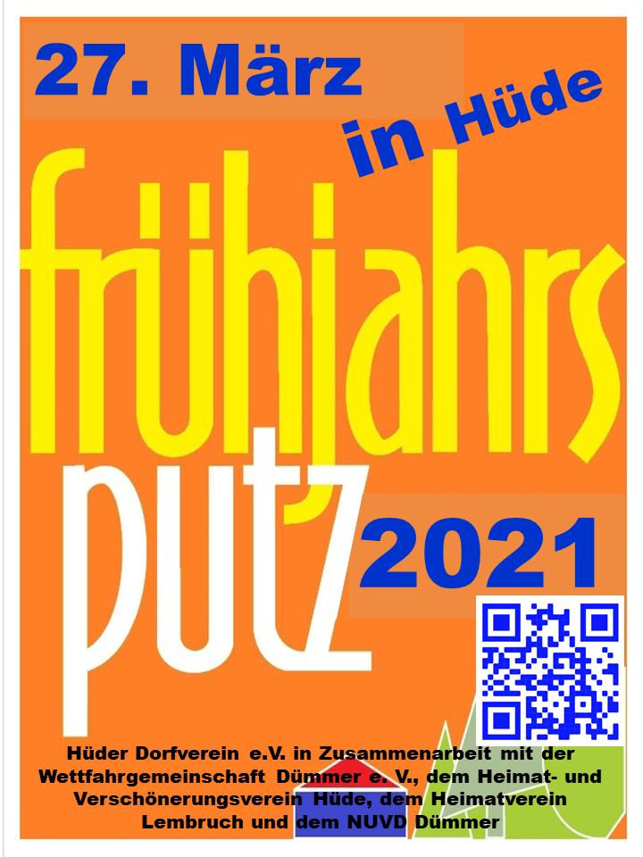 Frühjahrsputzaktion / Deichreinigung 2021 in Hüde und Lembruch